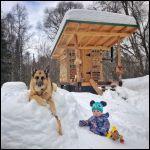 Kid & Dog