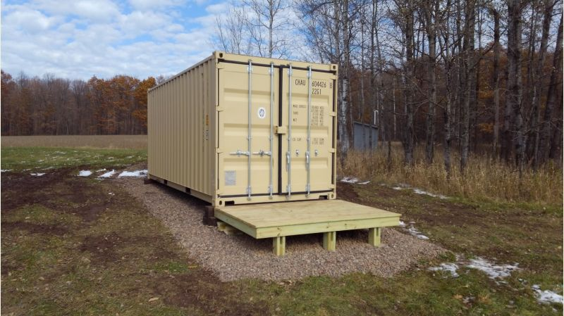 Shipping Container For Shed Small Cabin Forum 2