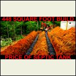 Cost of Septic Tank