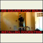 Pine Doors Install