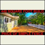 Fence $300+