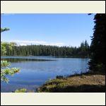 Fishing Lake up the Mountain