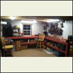 Work bench area