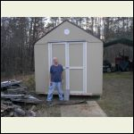 me & the first Shed kit.