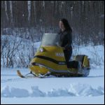 on my 1960's skidoo snowmobile