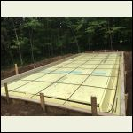 Foundation insulation and rebar