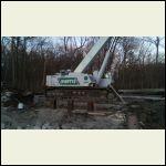 Crane/pile driver