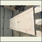 Bedroom Door Assembly
