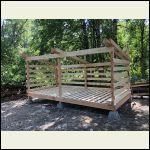 8x16 wood shed