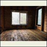 loft flooring - old redwood