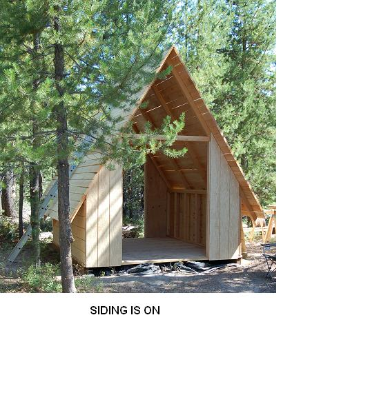 My 12x16 A-Frame Cabin - Small Cabin Forum (1)