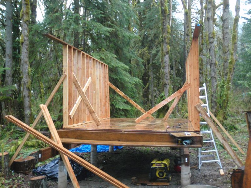 Log Cabins How to Build and Furnish Them William S