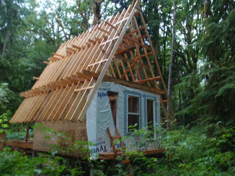 Log cabin loft designs joy studio design gallery best for Log a frame cabins