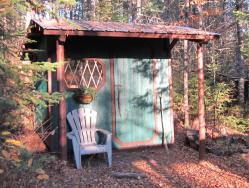 Small Cabin Building Other Auxiliary Structures
